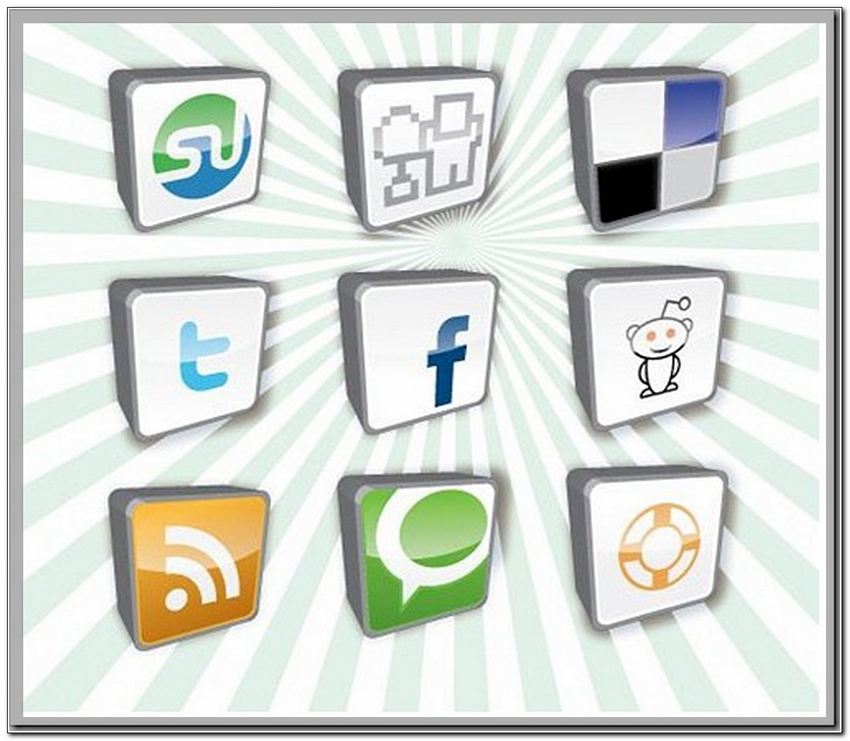 social bookmarking buttons high resolution