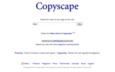 copyscape paid duplicate check