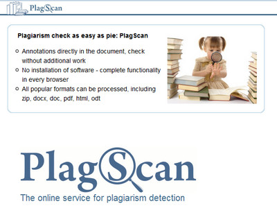 plagscan duplication check tool